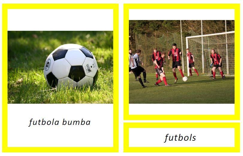Bumba + sporta veids