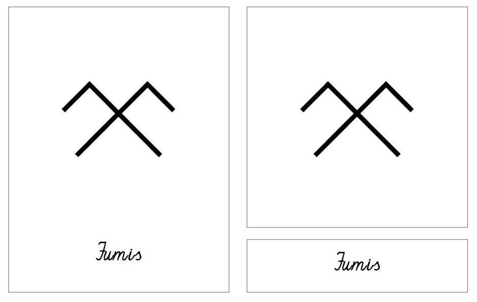 Latvju rakstu zīmes - rakstītie burti