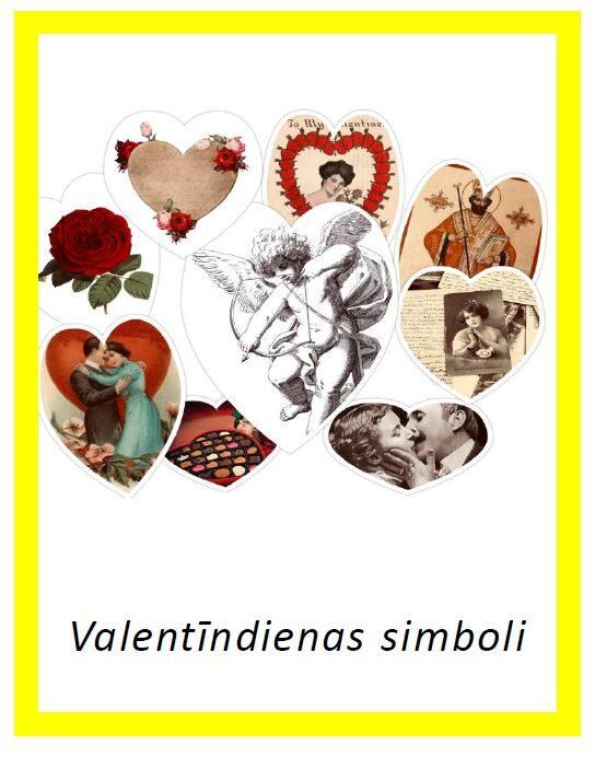 Valentīndienas simboli