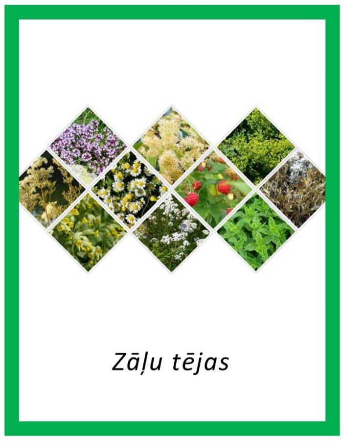 Komplekts - Zāļu tējas